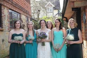 Alana and Jess at Lauras weddding 3