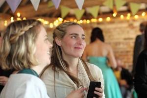 Alana and Jess at Lauras weddding 4