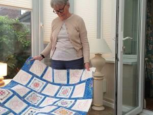 Eillen and quilt
