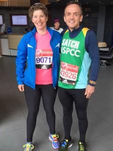 London Marathon Martin and Victoria 2016